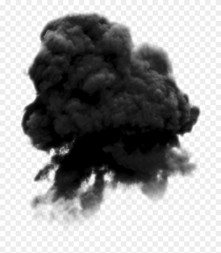 Black Smoke Png Pic - Smoke Clipart #275084