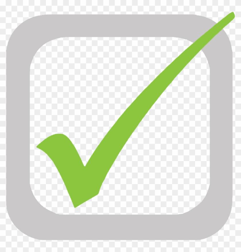 Kisspng Checkbox Check Mark Tick Clip Art Arachn - Green Tick In Box Transparent Png #278527