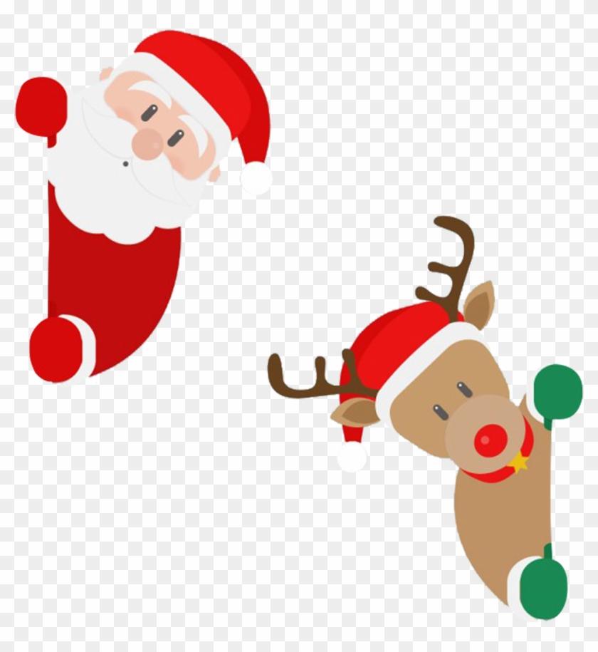 Santa Claus's Reindeer Christmas Santa