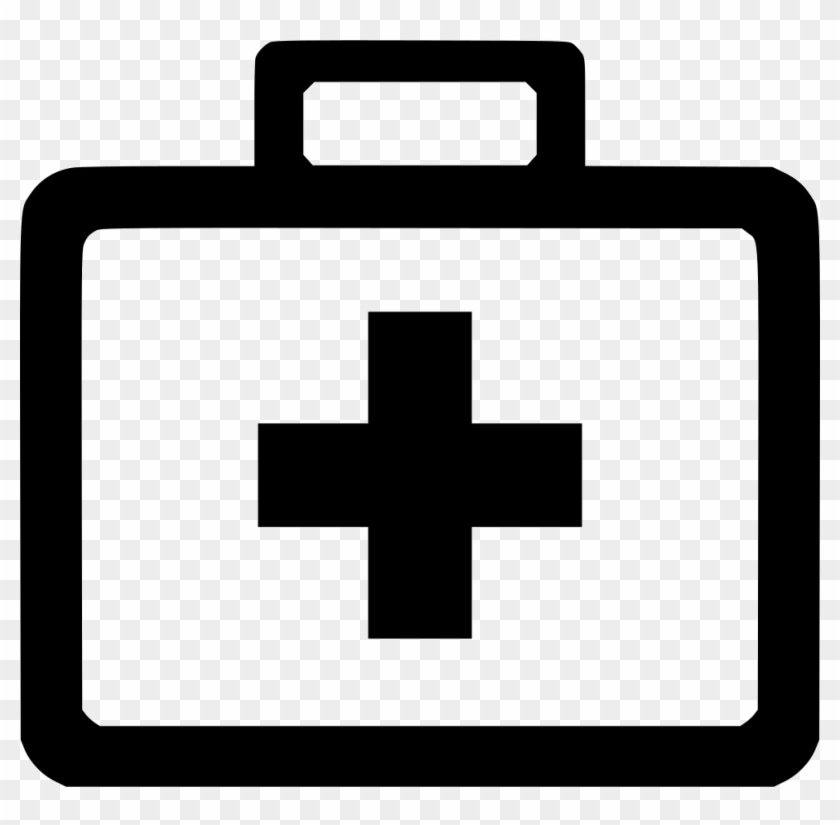 Doctor's Kit Cliparts - First Aid Kit Svg - Png Download #2708247