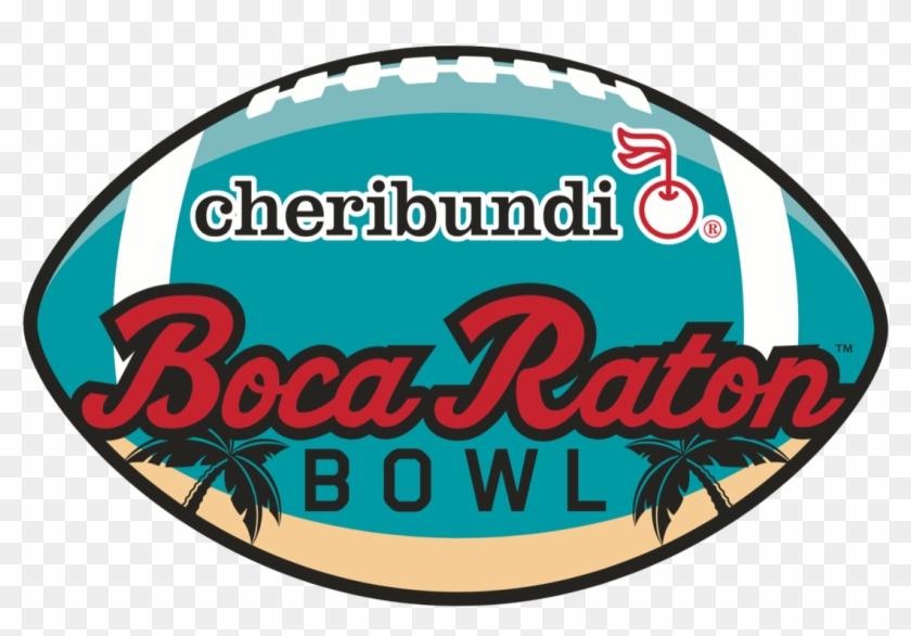 The Bowl Game Is Played In The 30,000-seat Fau Stadium - Cheribundi Boca Raton Bowl Clipart #2715791