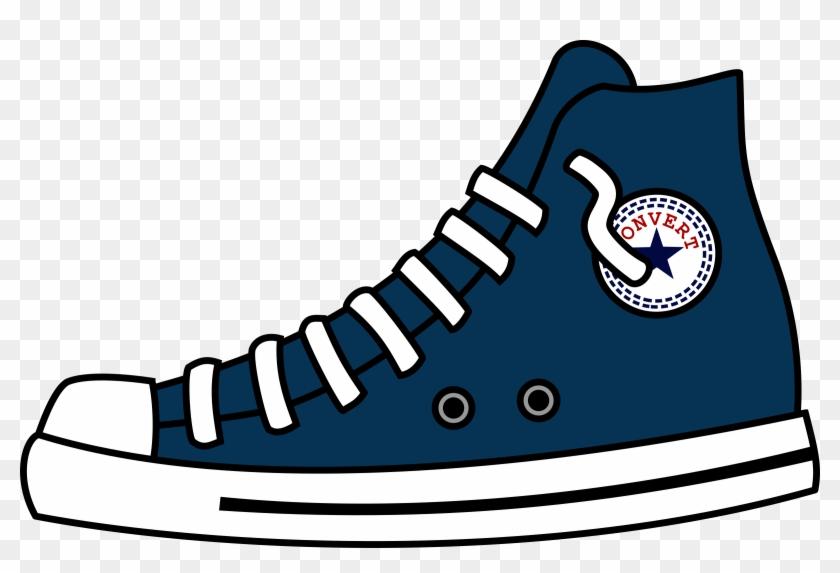 Converse Clipart Chuck Taylor - Converse Shoes Clip Art - Png Download #2718206