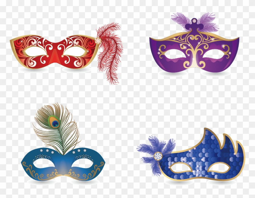 Mask 5 Mascaras De Carnaval Clipart 2718335 Pikpng