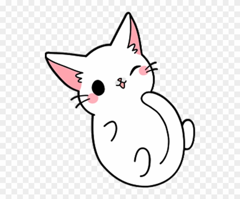 Cat Kitten Drawing Sit Cute Cat Dog Drawing Clipart 2721571 Pikpng