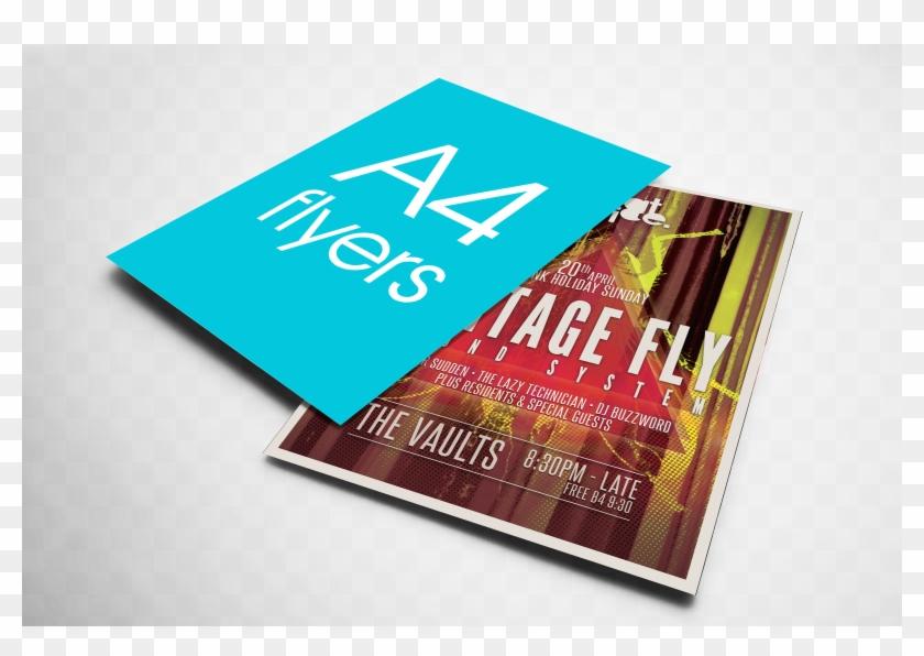 A4 Flyers - A6 Flyers Clipart #2729354