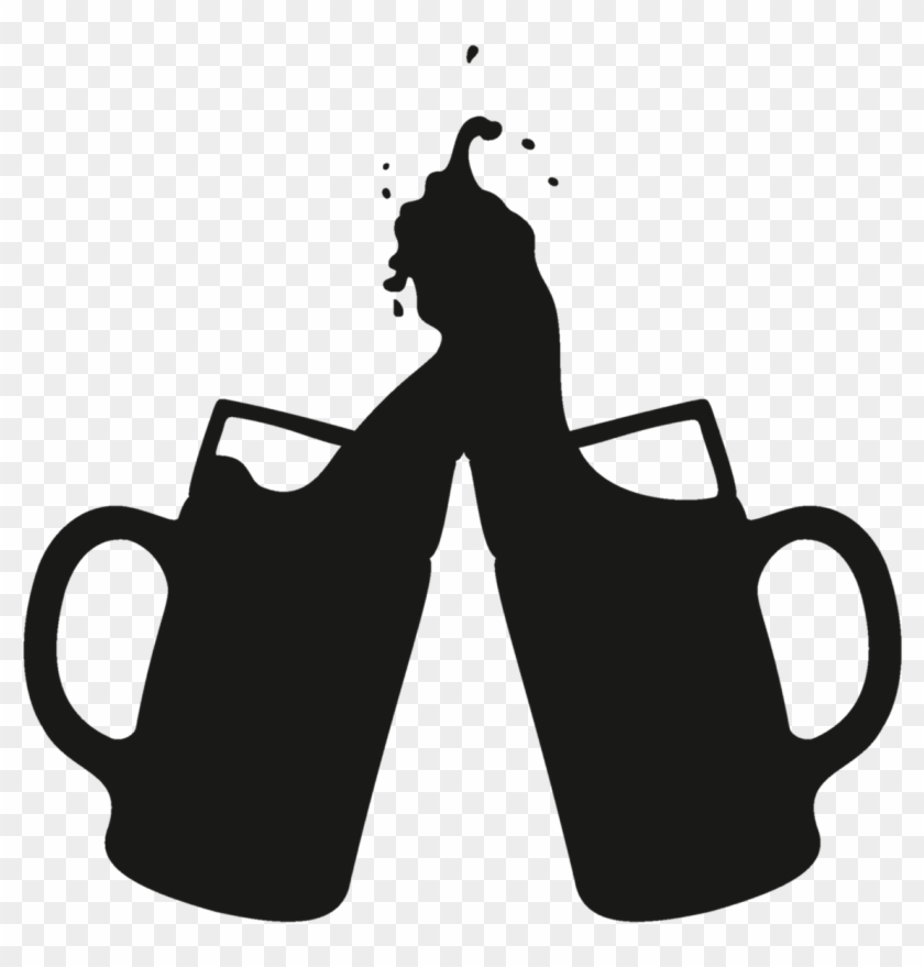 Beer Can At Getdrawings Com Free For Ⓒ - Beer Mug Silhouette Png Clipart #2729755