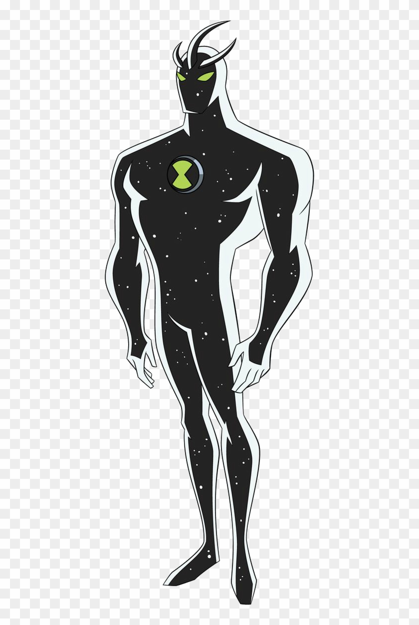 Alien X Ben - Ben 10 Alien X Drawing Clipart #2732432