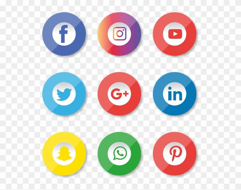 Facebook Instagram Youtube Logo Png Clipart #2732736
