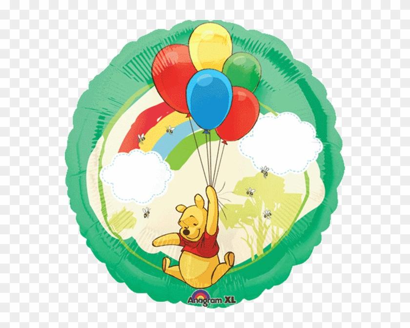 Winnie The Pooh - Happy 9th Birthday Balloons Clipart #2732970