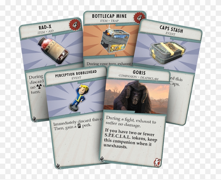 In The New Expansion Fallout - Fallout New California Board Game Clipart #2738988