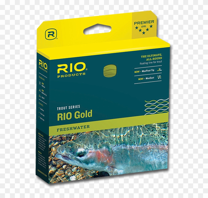 Rio Gold Fly Line Clipart #2741087