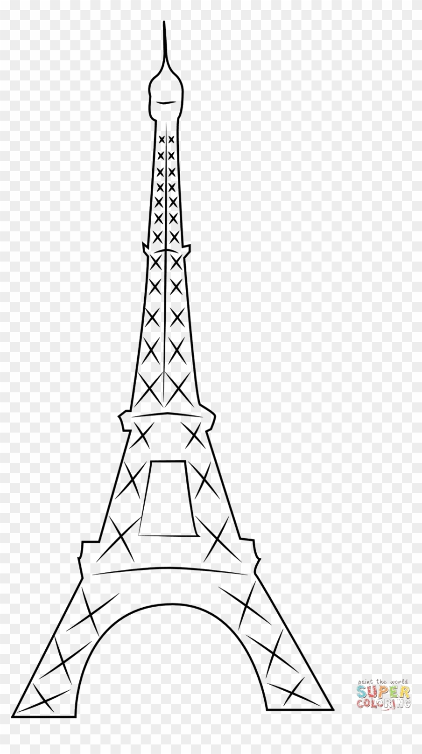 - Eiffel Tower For Coloring Haramiran