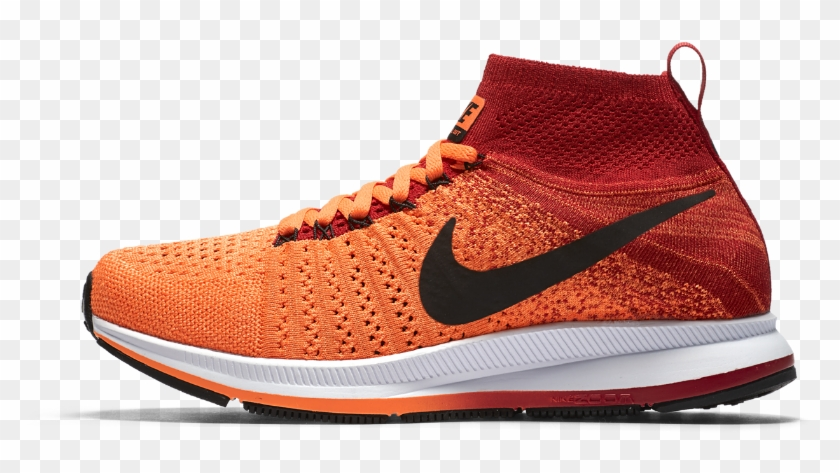 Nike Air Zoom Pegasus All Out Flyknit Big Kids' Running - Nike Zoom Pegasus Flyknit All Out Clipart #2746451