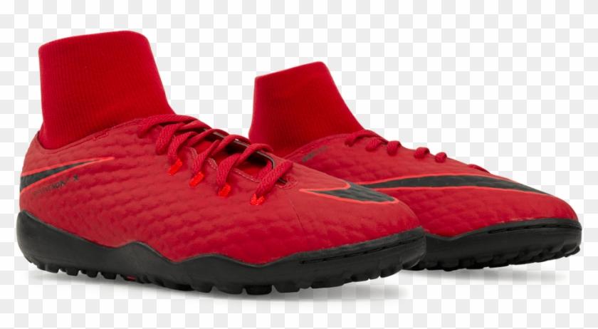 Nike Kids Hypervenomx Phelon 3 Df Turf Soccer Shoes - Running Shoe Clipart #2746491