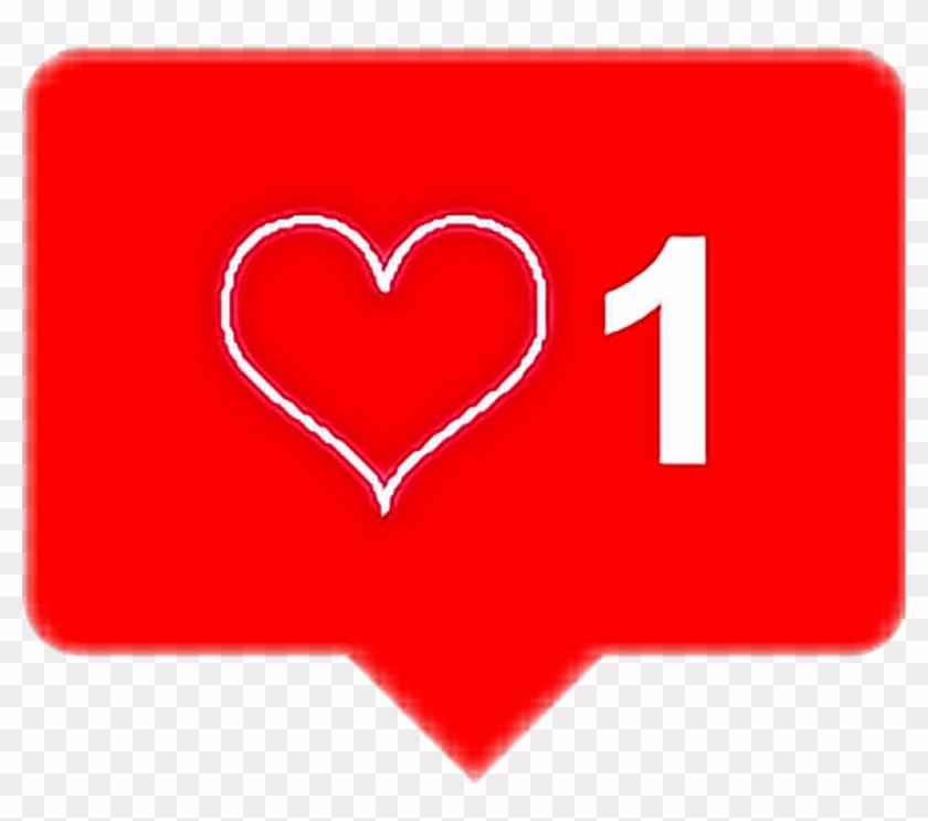 #remixit #heart #like #instagram #notification #effect - Heart Clipart #2746893