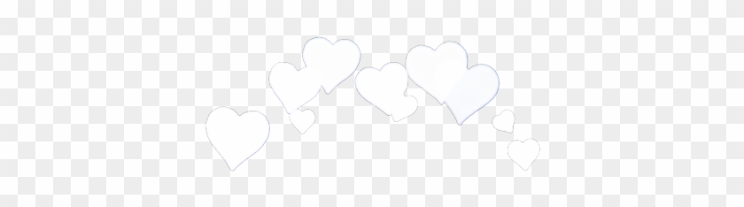#interesting #crown #heart #heartcrown #white #instagram - Heart Booth Png Yellow Clipart #2746936