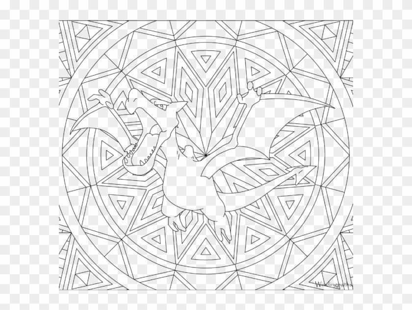 Adult Pokemon Coloring Page Aerodactyl - Printable Pikachu ...