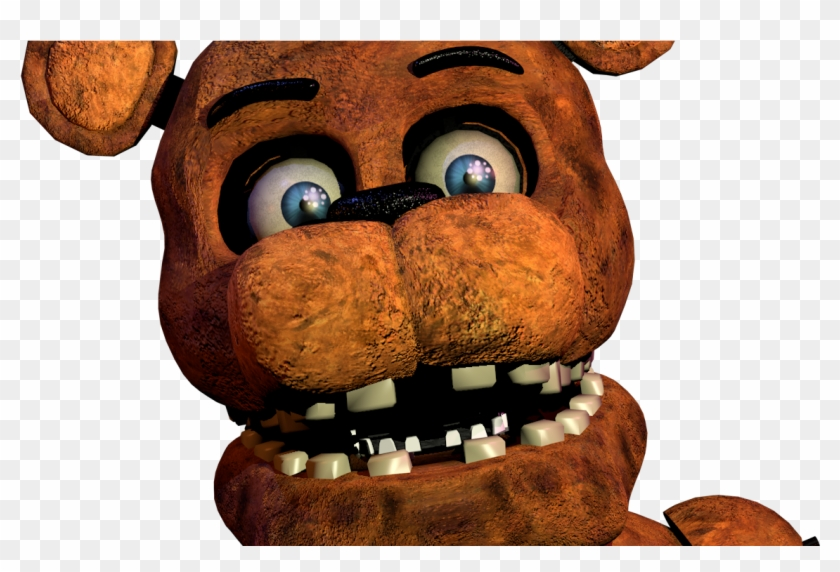 Fnaf Withered Freddy Jumpscare Clipart 2755532 Pikpng