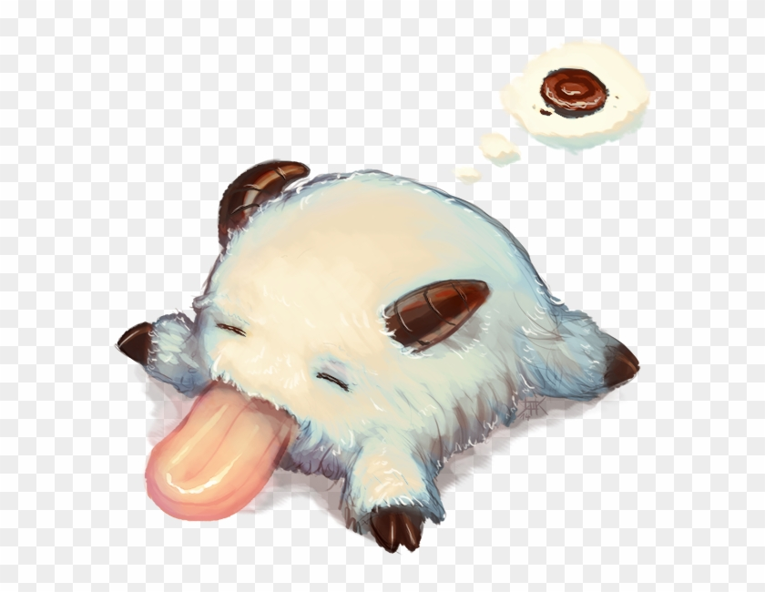 [deleted] You Wake Up Inside Your Bed Only To Find - Poros League Of Legends Kawaii Clipart #2767124