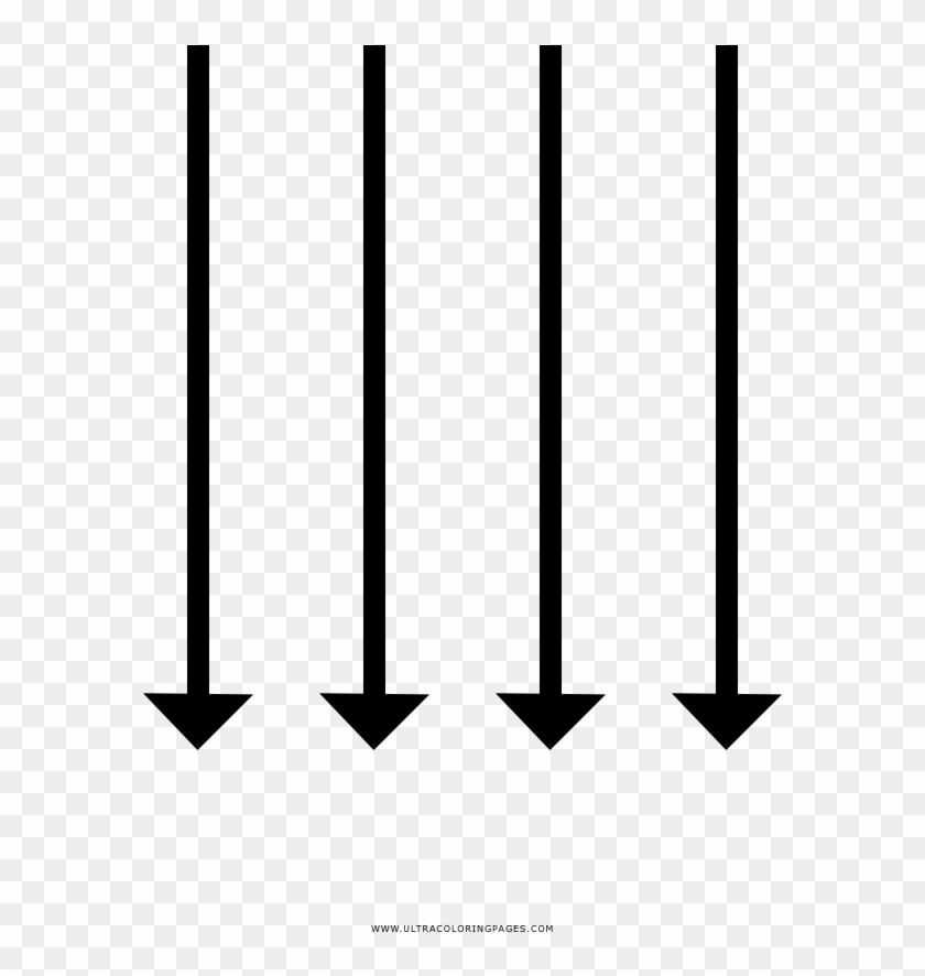 Setas Para Baixo Coloring Page , Png Download - Symmetry Clipart #2767925