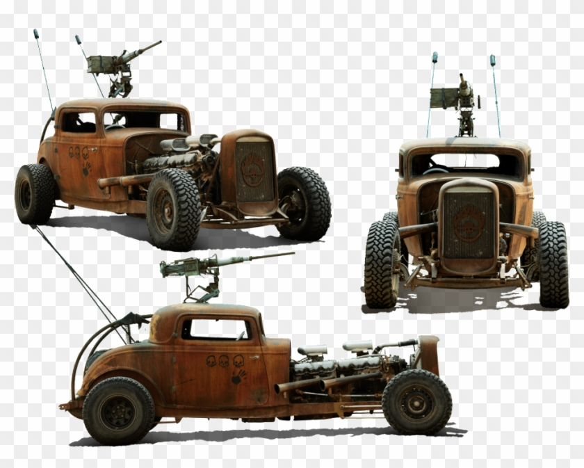 Mad Max's Fury Road Vehicle Lineup Is The Stuff Of - Elvis Mad Max Fury Road, HD Png Download #2771455