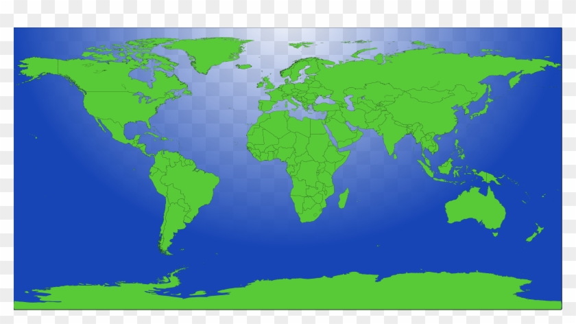 File Blank Us Map Mainland With No States Wikimedia - World Population Density 1900 Clipart #2772117