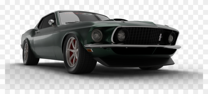 Old School Car Png - Dodge Challenger Clipart #2776013