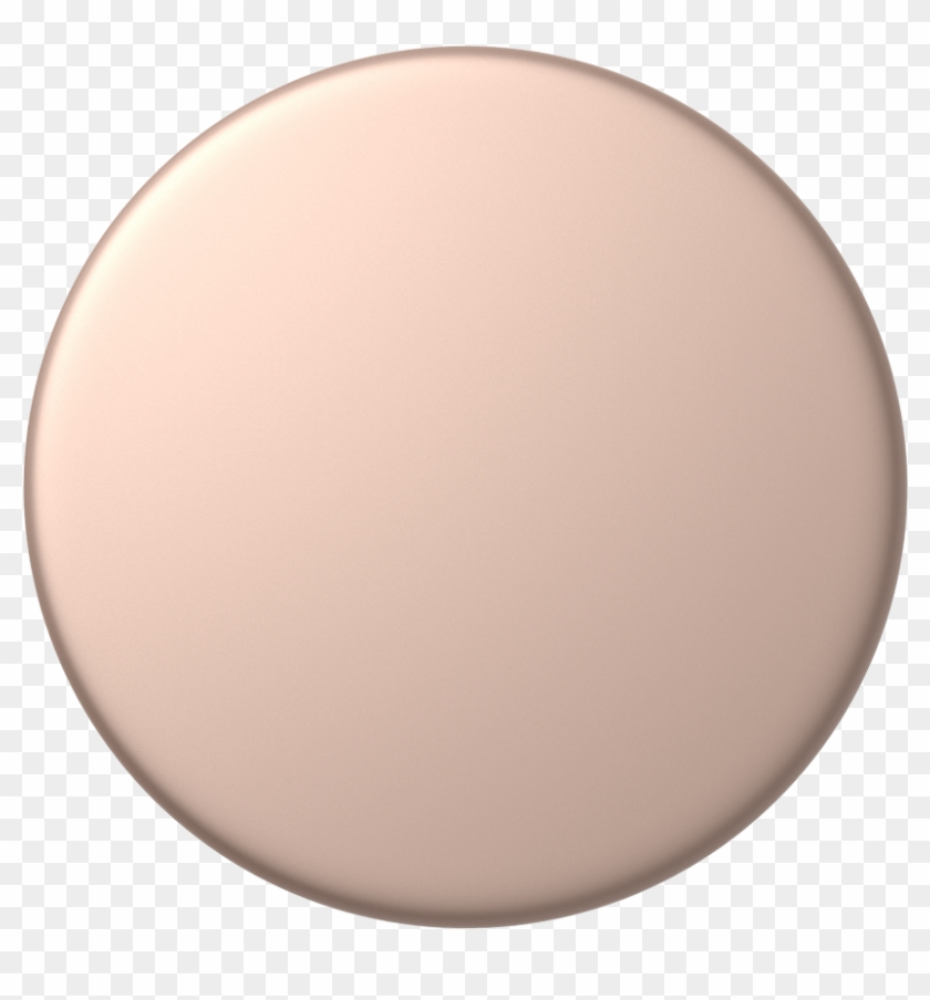Rose Gold Png - Rose Gold Aluminum Popsocket Clipart #2780406