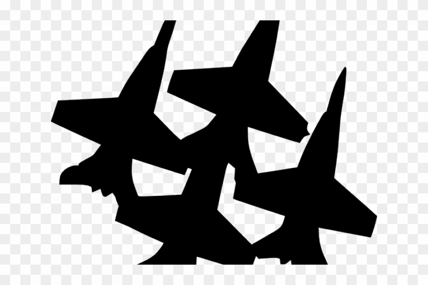 Airplane Clipart War Blue Angel Jets Clip Art Png Download