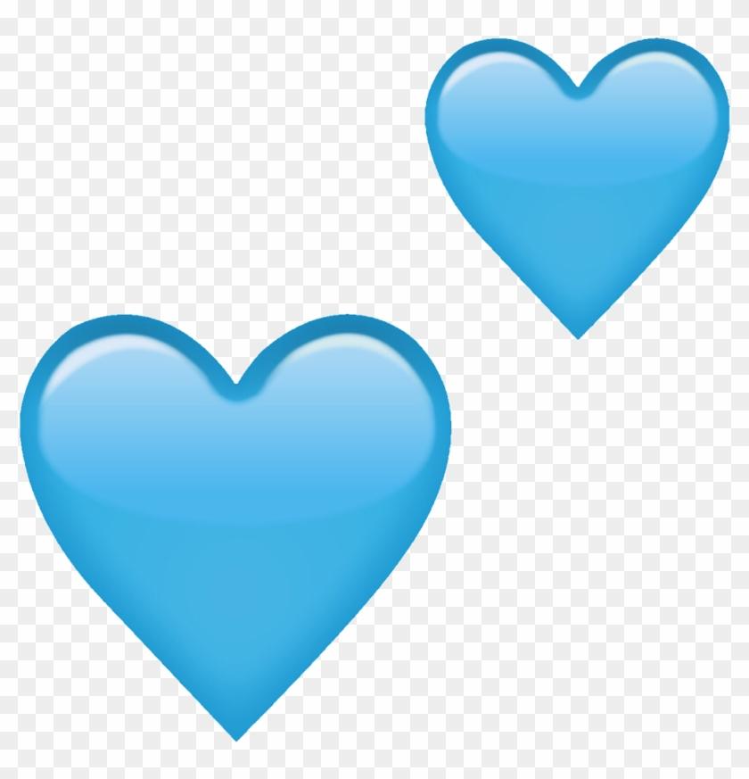#heart #emoji #blueheart #blue #heartemoji #freetoedit - Transparent Heart Emoji Png Clipart #2793843