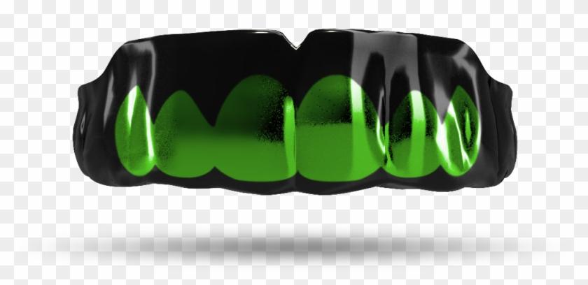 Transparent Grill Emerald - Chrome / Emerald Green Clipart #2795130