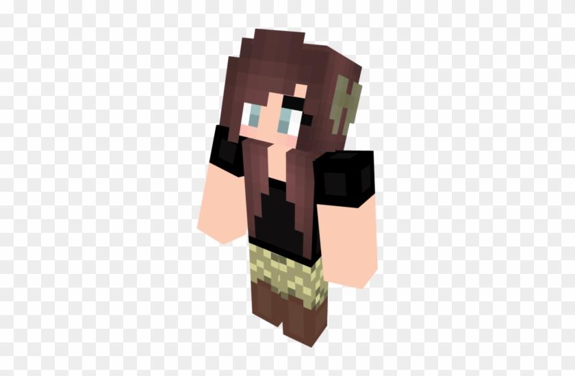 Minecraft Skin Bow