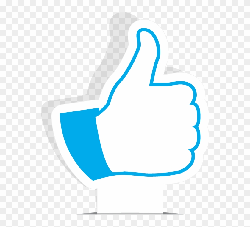 Youtube Like Button Transparent - Sign Clipart #281510