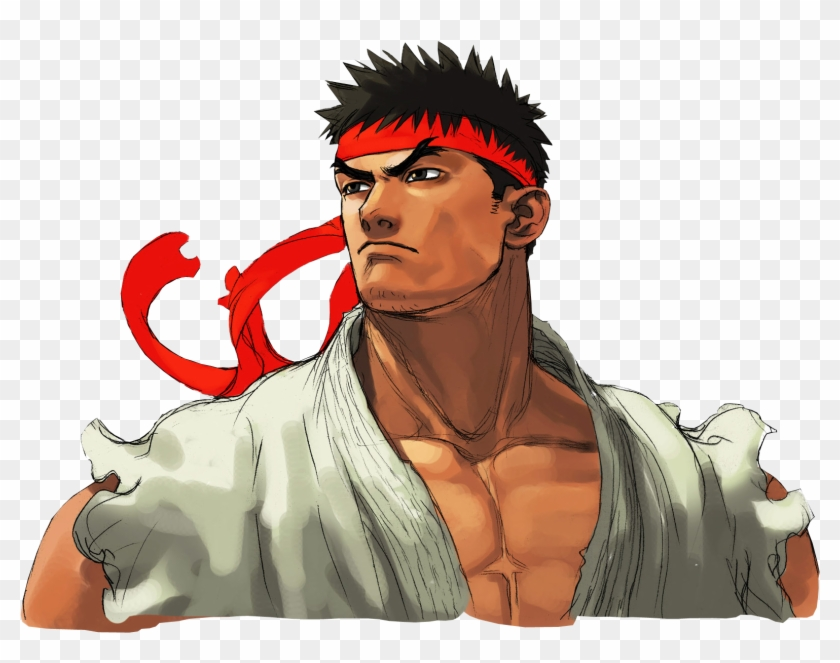 Ryu Street Fighter Street Fighter Ryu Artwork Clipart 283252