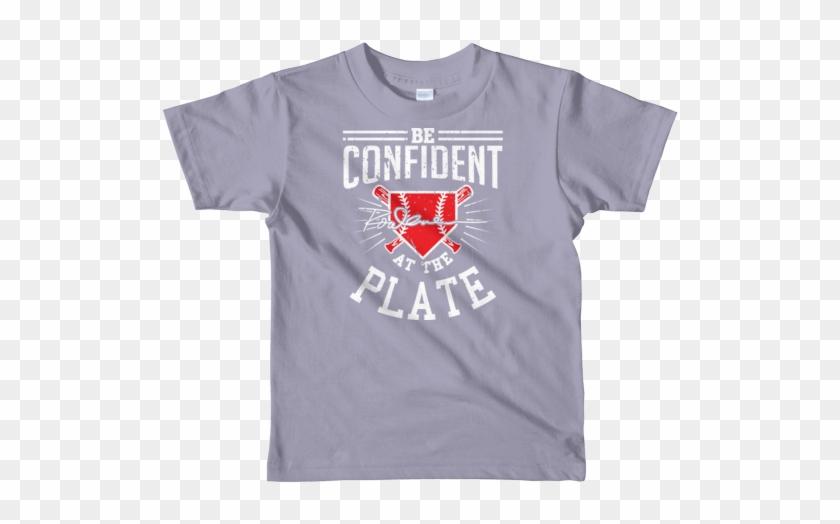 Be Confident Short Sleeve Kids T-shirt Kids Clothing - T-shirt Clipart #288559