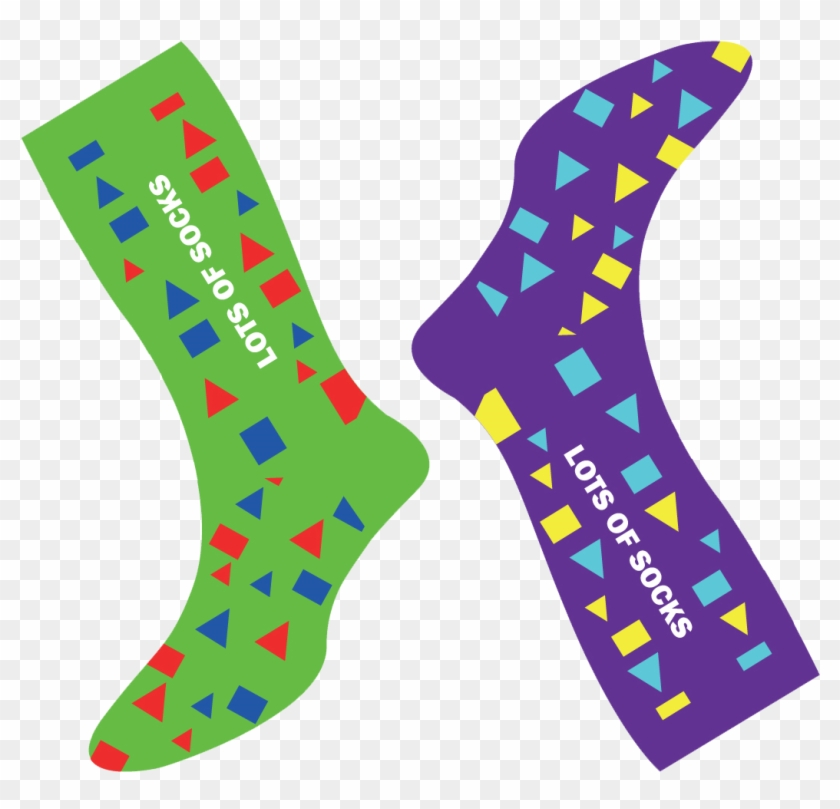 Get Your Socks On - World Down Syndrome Day 2019 Clipart #2800219