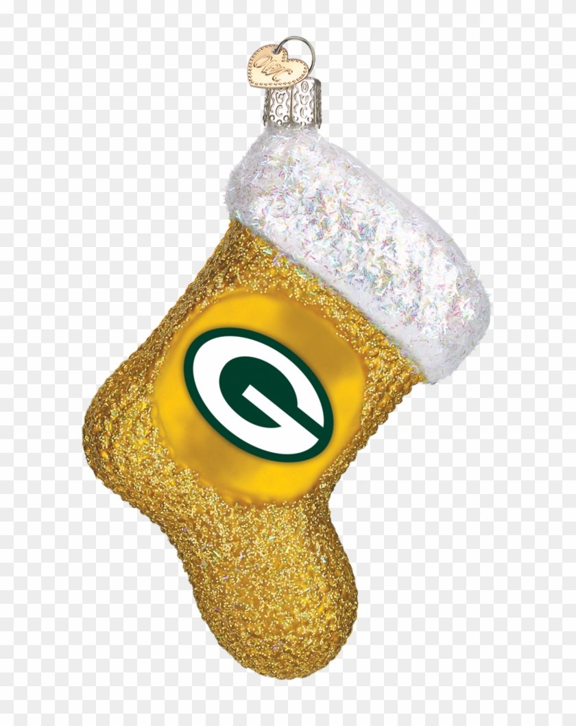 Green Bay Packers Stocking Ornament Png Download Locket Clipart 2810640 Pikpng
