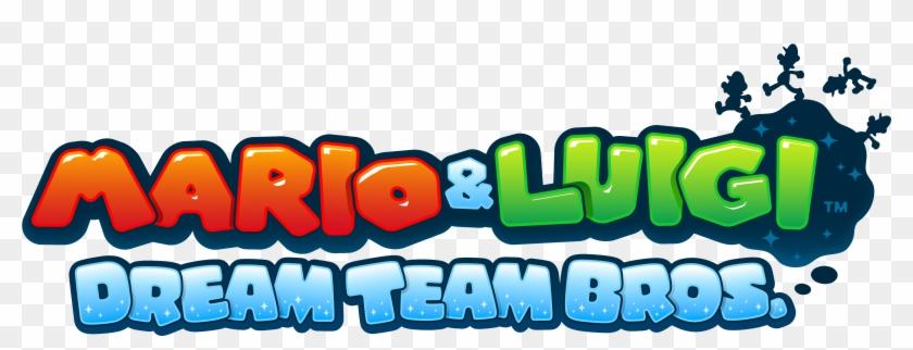 5500 2200 In Mario Luigi Mario E Luigi Dream Team Logo Clipart 2831156 Pikpng