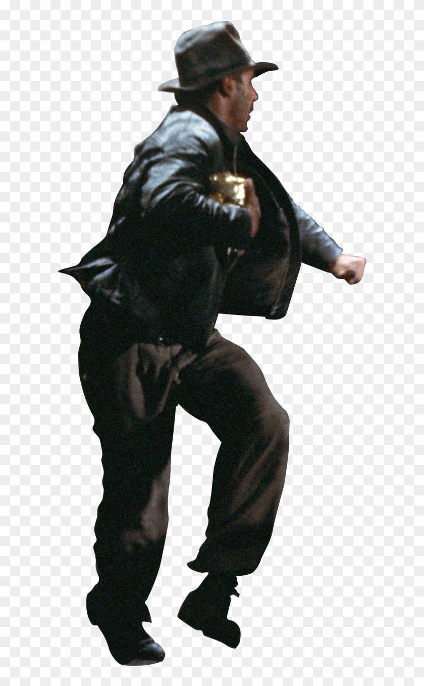 Indiana Jones Running Boulder - Handgun Holster Clipart #2831609