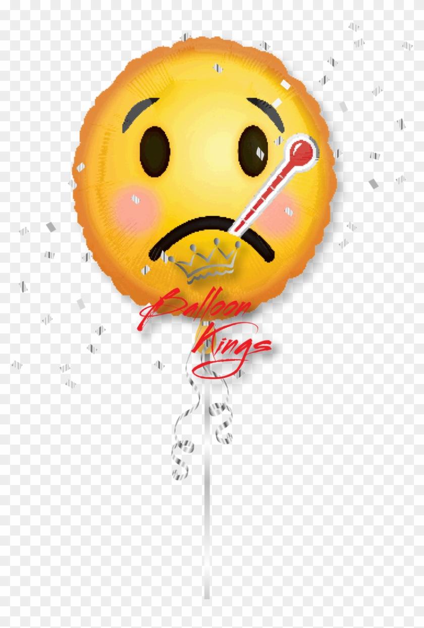 Emoji Get Well Soon - Hope You Feel Better Soon Emoji Clipart #2834602