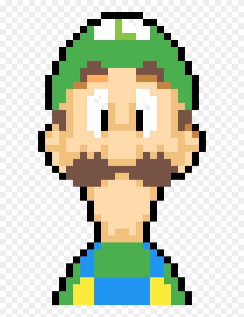 Super Mario Saga Luigi Pixel Art Ant Man Clipart 2840357