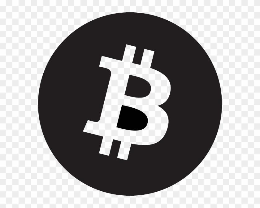 Bitcoin 3x Linkedin Logo Black Round Clipart 2840893 Pikpng