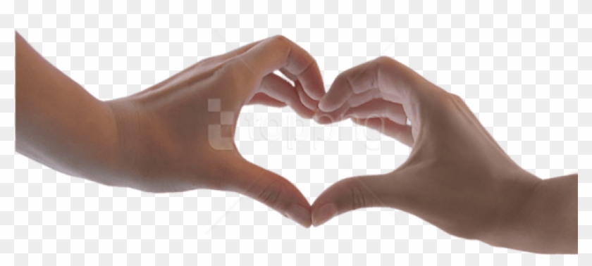 Hand Heart Png - Heart With Hands Png Clipart #2842932