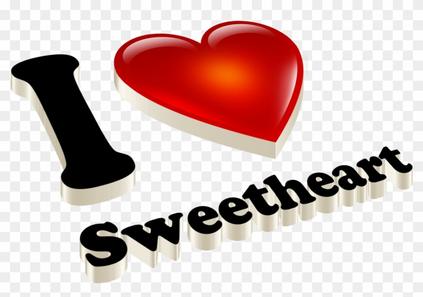 Love You Sweet Heart Clipart #2844161