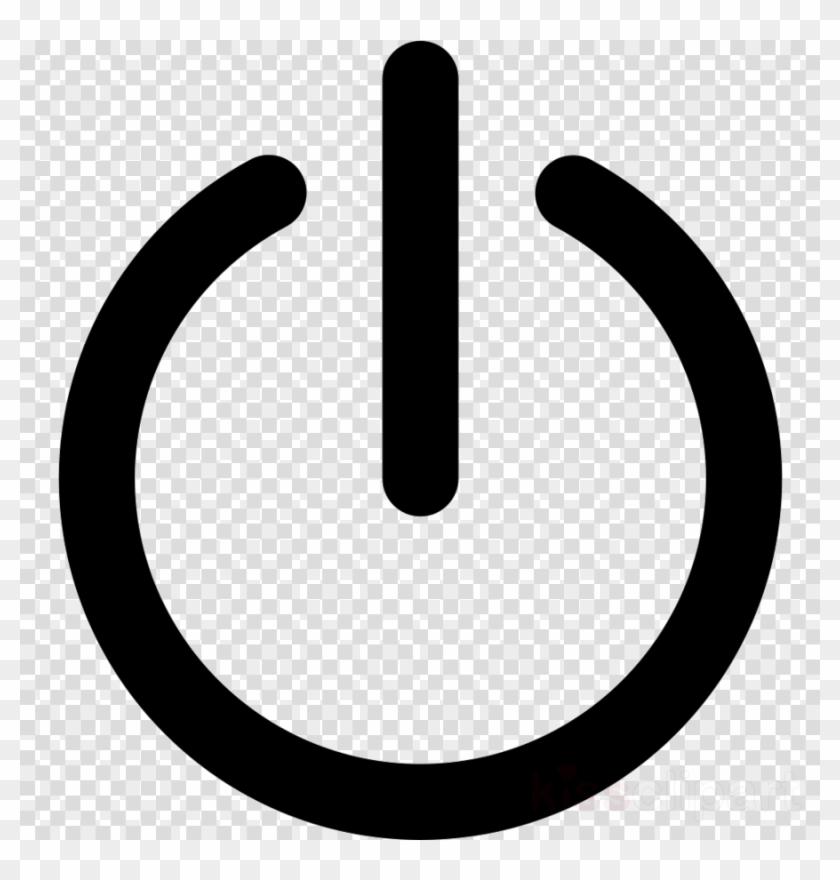 Power Button Png Clipart Computer Icons Clip Art - Transparent Power Button Icon #2847284