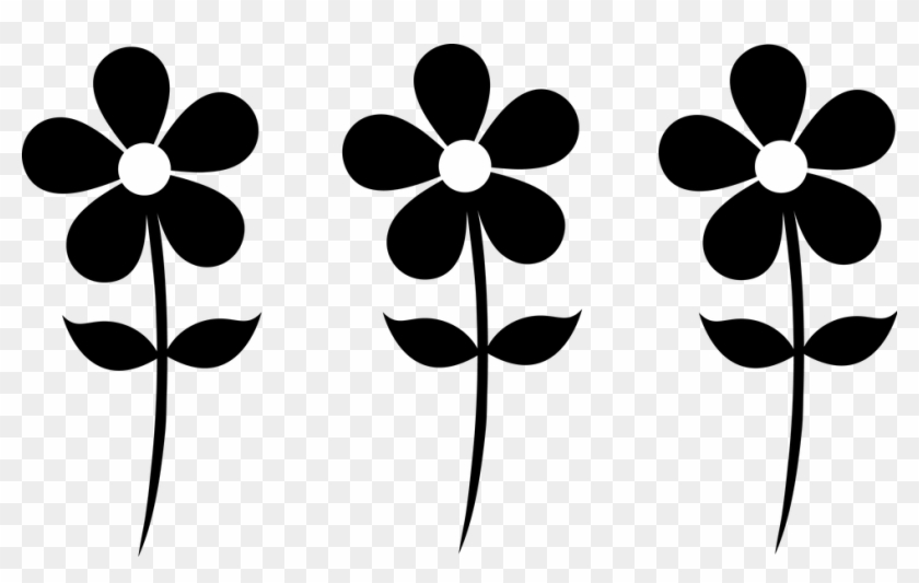 Flower Vector Silhouette Due To Free Flowers Silhouettes Transparent Background Flower Clipart Png Download 2853101 Pikpng