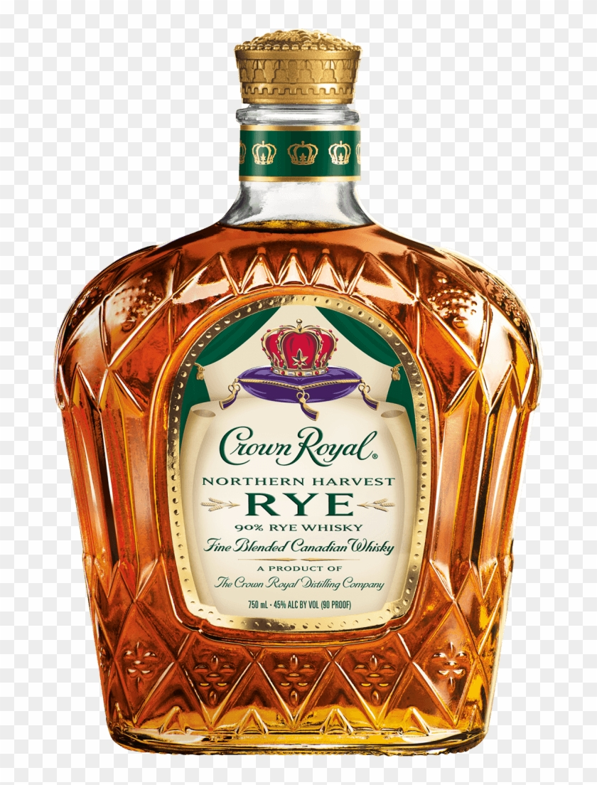 Try Crown Royal Northern Harvest Rye Whisky For The - Crown Royal Northern Harvest Rye Clipart #2854487