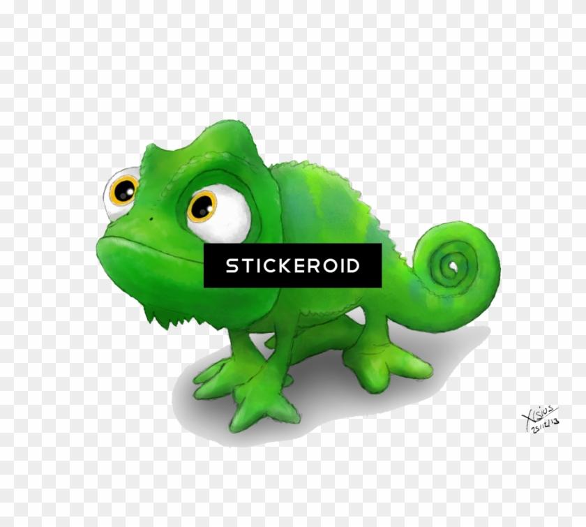 Chameleon Clipart Rapunzel Pascal Chameleon Png Download 2870867 Pikpng