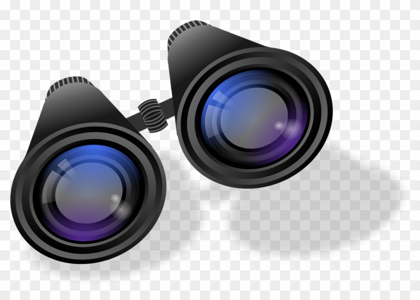 Binoculars Telescope Distant View Png Image - Things To Help You See Far Away Clipart #2886182