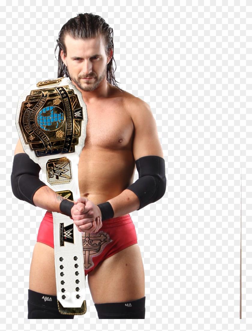 Adam Cole Ic Champion By Hamidpunk - Adam Cole Ic Title Clipart #2894432